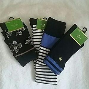 Kate Spade lot of 3 Socks